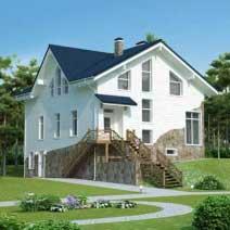 Проекты домов с цок. этажом