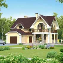 Проекты домов с сауной
