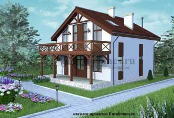 Проект дома G-175