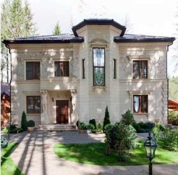 Проекты домов  200 кв.м., проект классического  коттеджа G-204