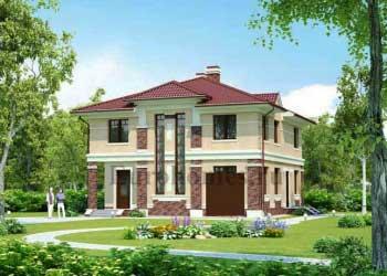 Проект дома с подвалом и сауной G-331