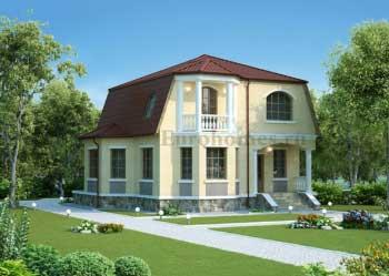 Угловой дом - проект G-320