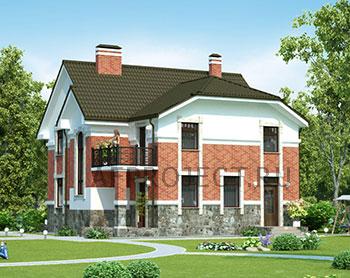 Проект дома  9х10 метров G-141