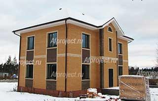 Проект дома 200 кв м двухэтажный коттедж