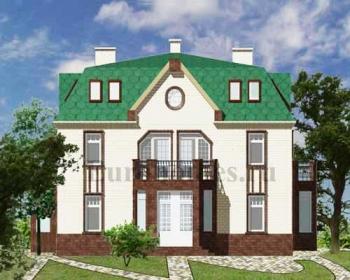 Проект дома на 2 хозяина