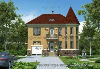 Дом из пеноблоков, проект G-380