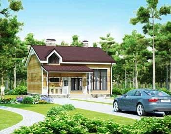 Проект дома с 5 спальнями