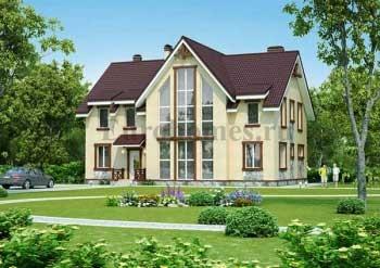 Проект домов и коттеджей 300 кв.м.