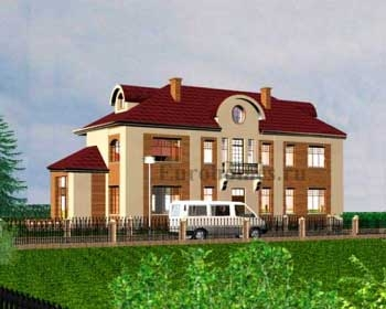 Проект загородного дома, проект G-289