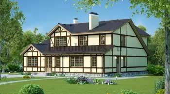 Проекты немецких домов или домов в немецком стиле G-233