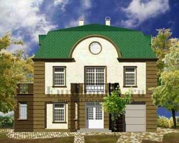 Авторские проекты домов, проект G-340