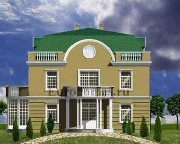 Дом в классическом стиле, проект G-341