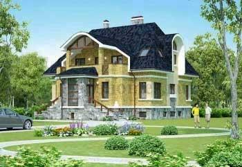 Дом с сауной G-401