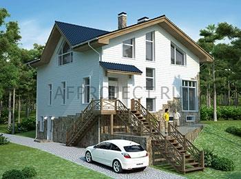 Дом в финском стиле - проект G-315