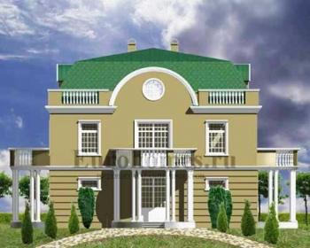 Проект дома на 2 семьи