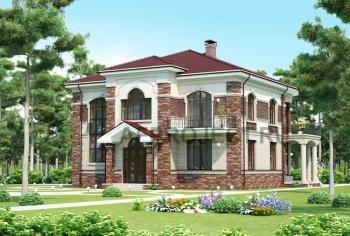 Проект большого дома, коттеджа. G-465