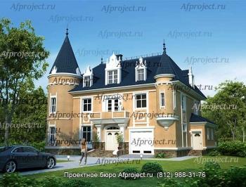 Дом замок - проект G-369