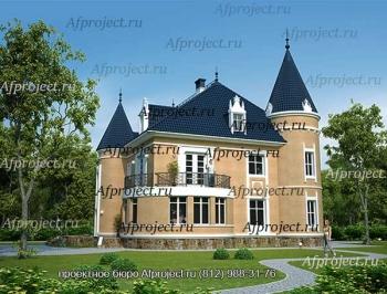 Проект загородного замка G-369A