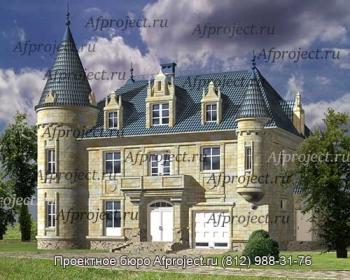 Проект дома замка , проект G-368