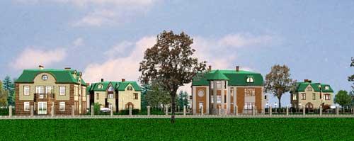 Коттеджные поселки в Ленинрадской области