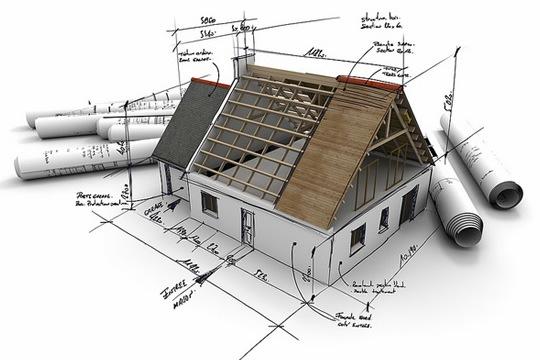 участка дома, схема план