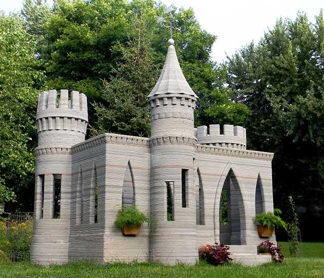 проекты домов замков в 3-Д