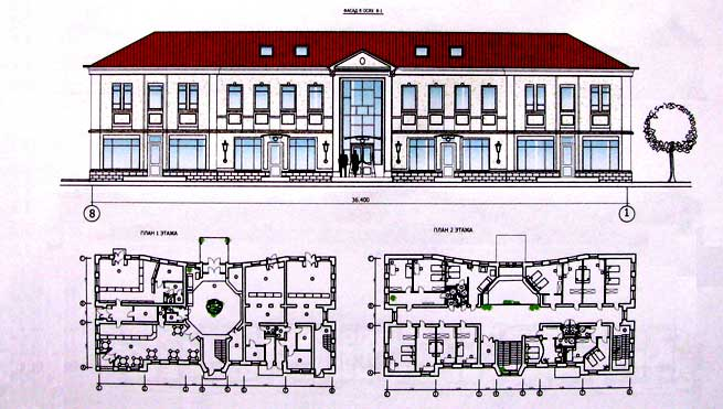 Проектное бюро в СПб, объекты
