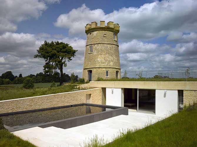 Проекты домов с башней